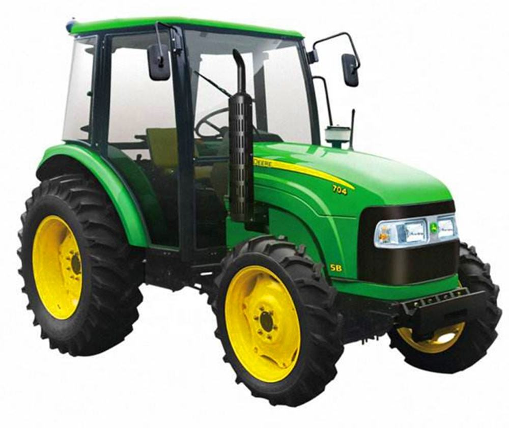 used tractors kubota JOHN andDEERE DF YTO MF ZOOMLIONFarmer Shanghai New and Holland farm machinery agriculture mini tractor