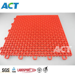 Snap on design PP outdoor sports courts, sport court flooring, plastic sports flooring for wholesale
