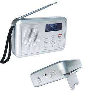 Low Price portable DAB radio FM Radio Digital Alarm Clock radio