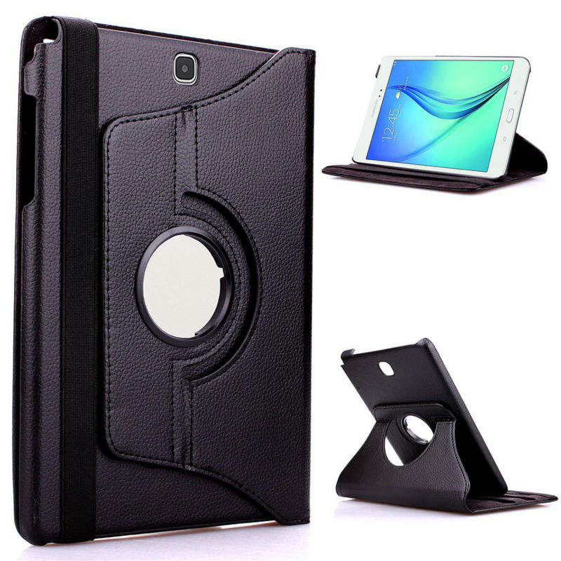 360 Graden Rotatie Flip Stand Cover Case Voor Samsung Galaxy Note 10.1 2012 GT-N8000 N8000 N8010 N8020 Pu Leather Case
