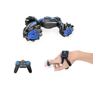 Big foot rc transforming stunt twister drift car toys hand watch remote control car for kids