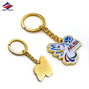 Longzhiyu Tooth Shape Metal Keychains with Custom Logo Silver Hard Enamel Keyrings Cute Cartoon Key Chain 14 Years Manufacturer