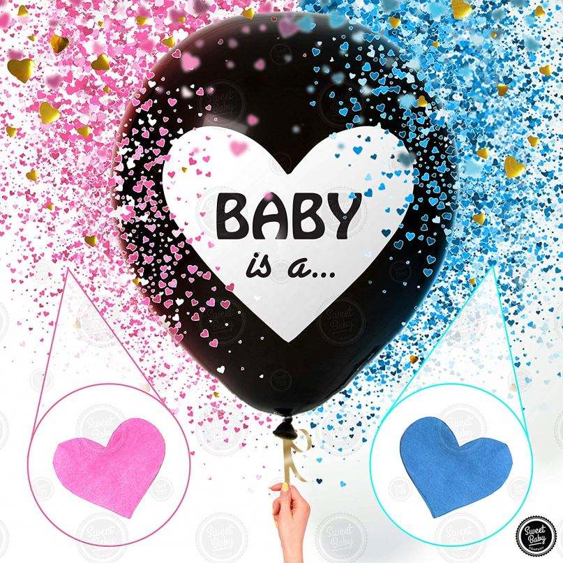 New 36 Inch Baby Gender Reveal Balloon For Boy Or Girl Shower Party Supplies Decoration Set