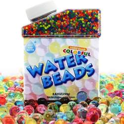Magic Water Beads 50000 Soft Beads Rainbow Mix Water Growing Balls for Kids Tactile Sensory Toys Home Decoration