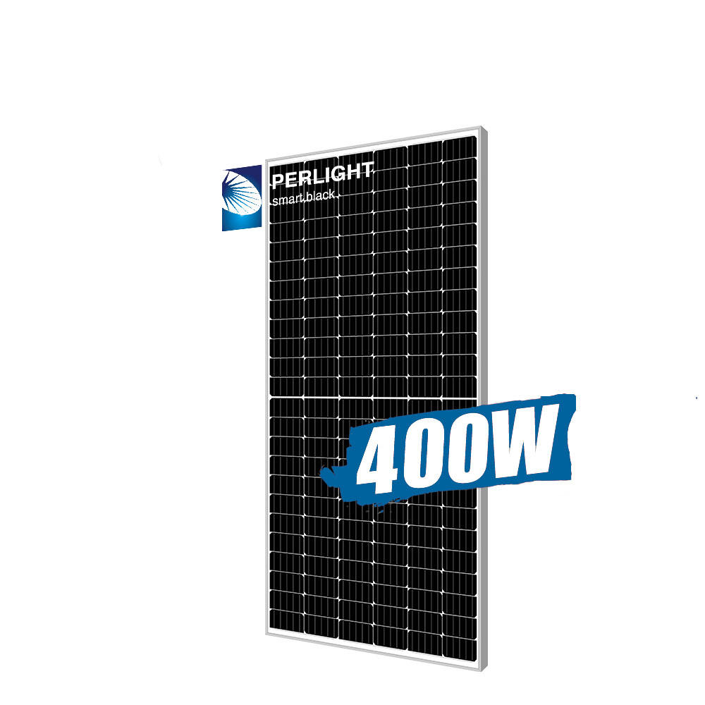Perlight solar panel half cell Invt solar inverter 5kw 10kw 70kw on grid solar system panel mono 400w