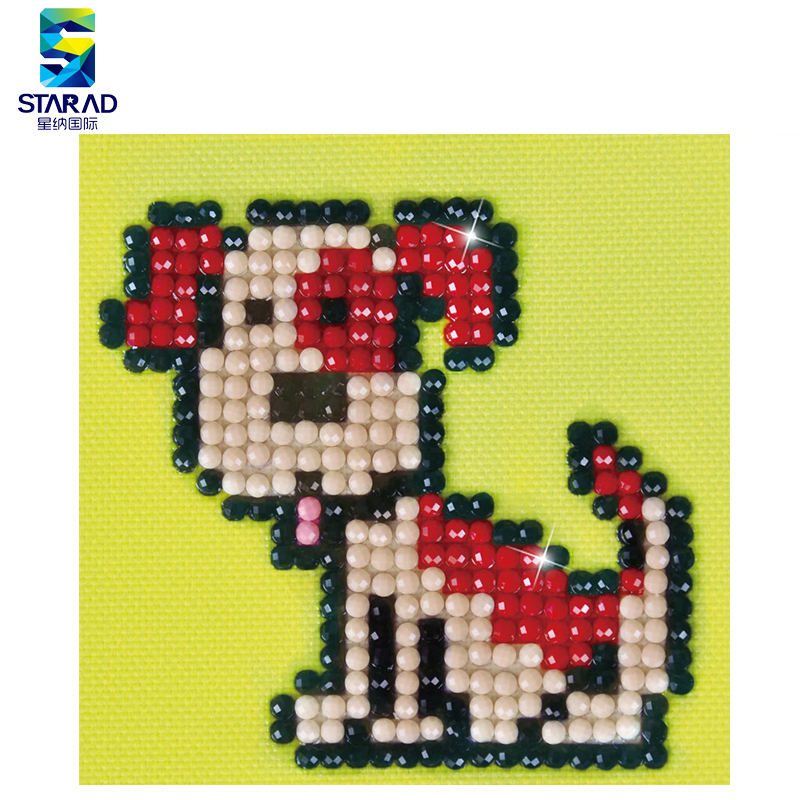 Wholesale DIY Hand Made Cut Dog Custom Diamond Painting For Kids