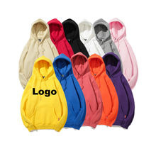 Custom Heavy Free Sample  Plain Sweatshirt 60% Organic Cotton 40% Polyester Long Sleeve Printed Oversize Pullover Hoodies