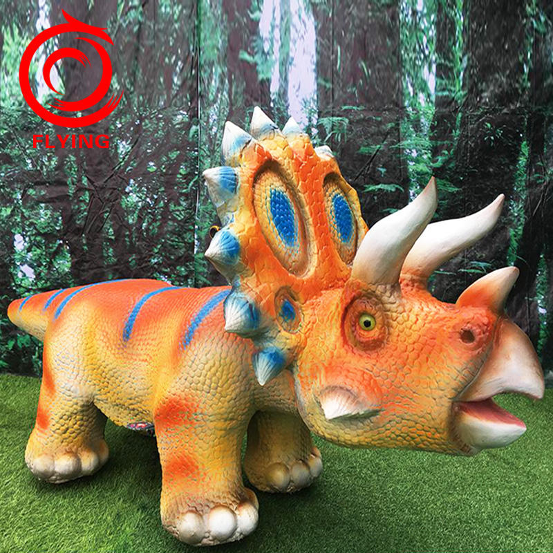 Theme Park Backyard Rides Animatronic Dinosaur For Sale