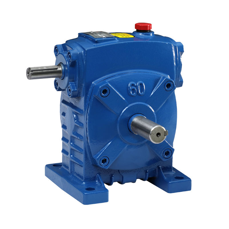 WPS cast iron speed reducer worm transmission gear box