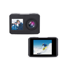 oem cheap action camera 4K HD 1080P action cam double screen wifi cam action 30M waterproof sport camera