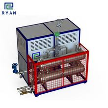 electric thermal oil heater circulating heating system with cooling unit for petrochemical industry