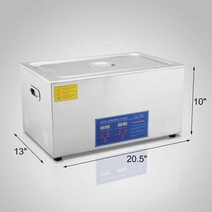 Ultrasonic Cleaner Elemen Panas 100 KHz Ultrasonic Cleaner Ultrasonic Cleaner Bak Mandi Air Panas