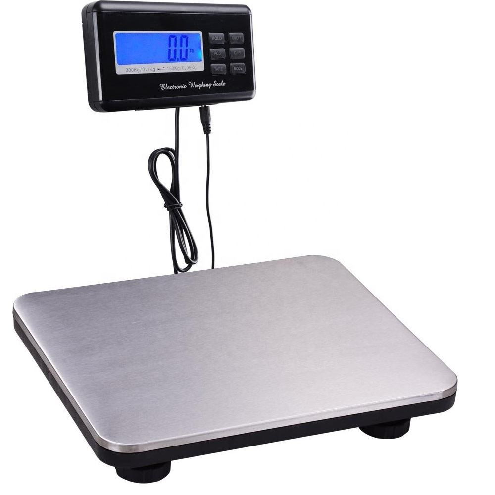 goog price 300kg digital electronic weighing floor platform scale personal postal pet scale