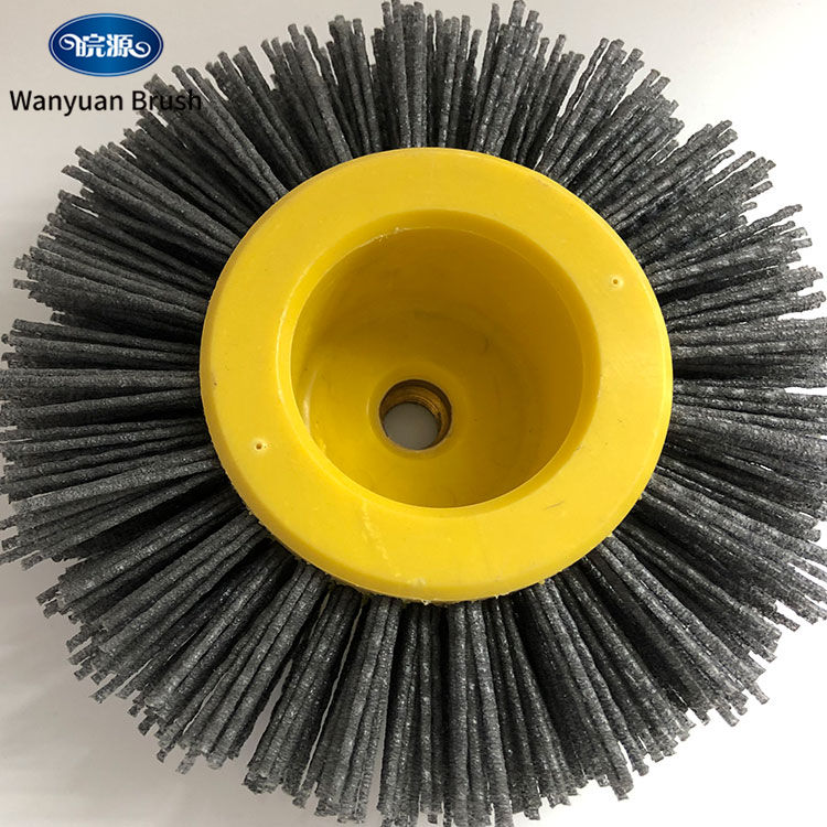 Deburring and Cleaning Brush Roller Abrasive Silk Material Wheel Type Brush To Clean Jewelry