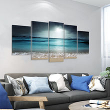 Home decor canvas art painting set nature landscape paintings modern wall decorative printed pictures