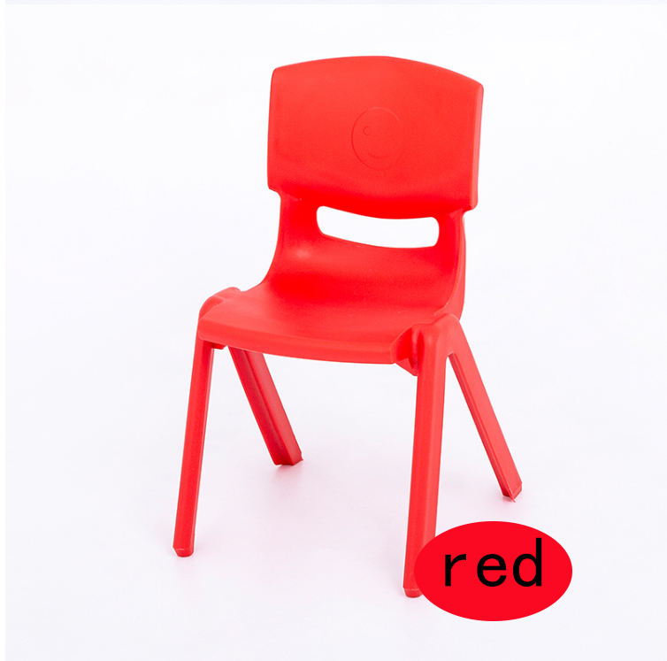 High quality multicoloured plastic kindergarten chair children stackable plastic chair nursery chair