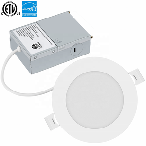 ETL Approved 120V 750lm 4'' 9W Round Led Pot Light with Driver Box
