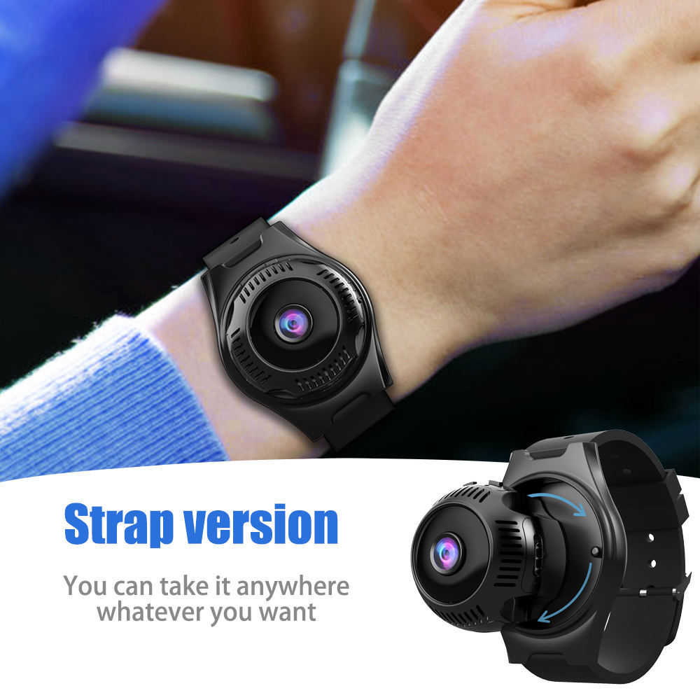 2020 Amazon Hot Spy Nanny Cameras Wireless WiFi HD Home Hidden Cam Outdoor Sports Multi Use Mini CameraとWatch Band