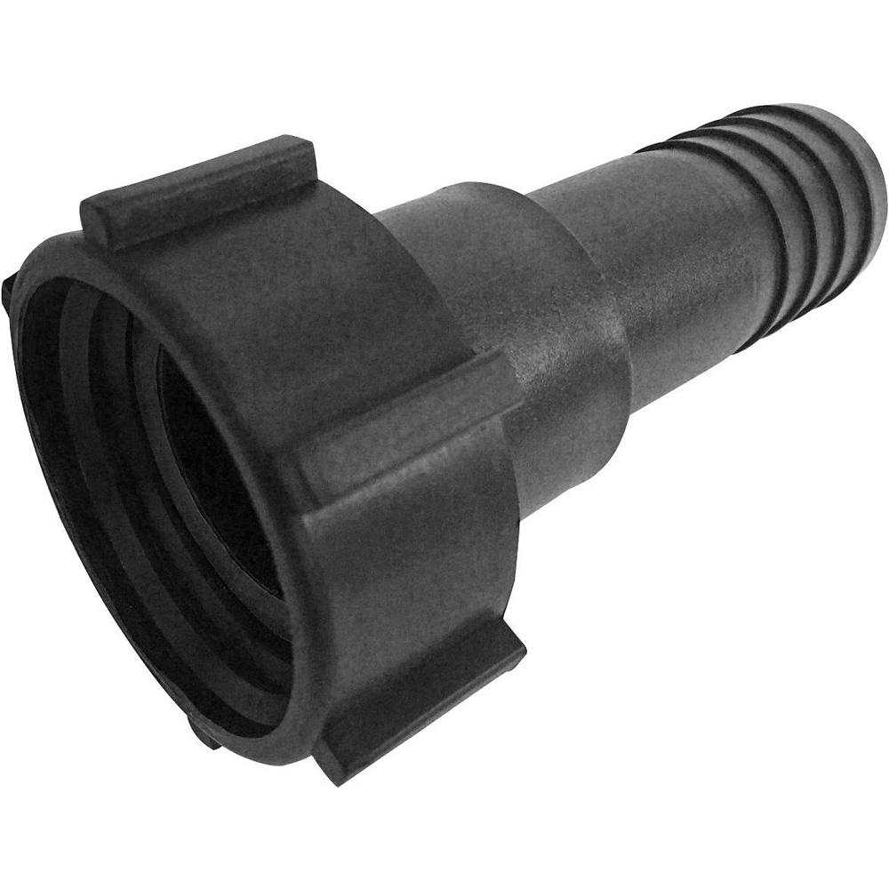 "PP IBC Tank Fitting/Adapter DIN 61 Plastic Drum Coupling/Adaptor with 1-1/2"" Hose Barb"