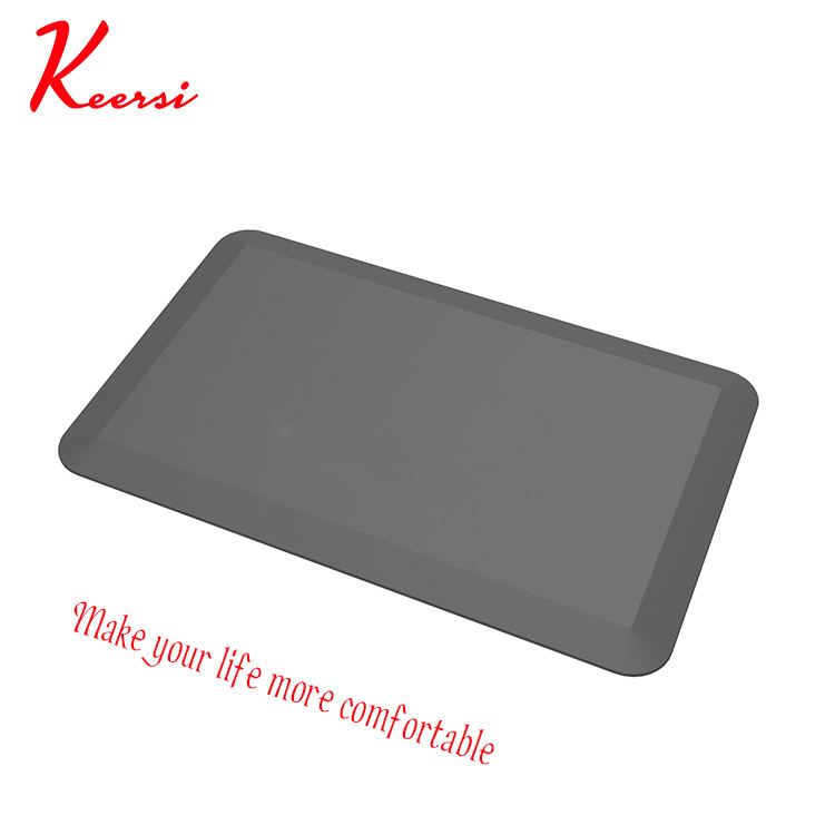 PU Leather Anti-fatigue Kitchen Comfort Mat