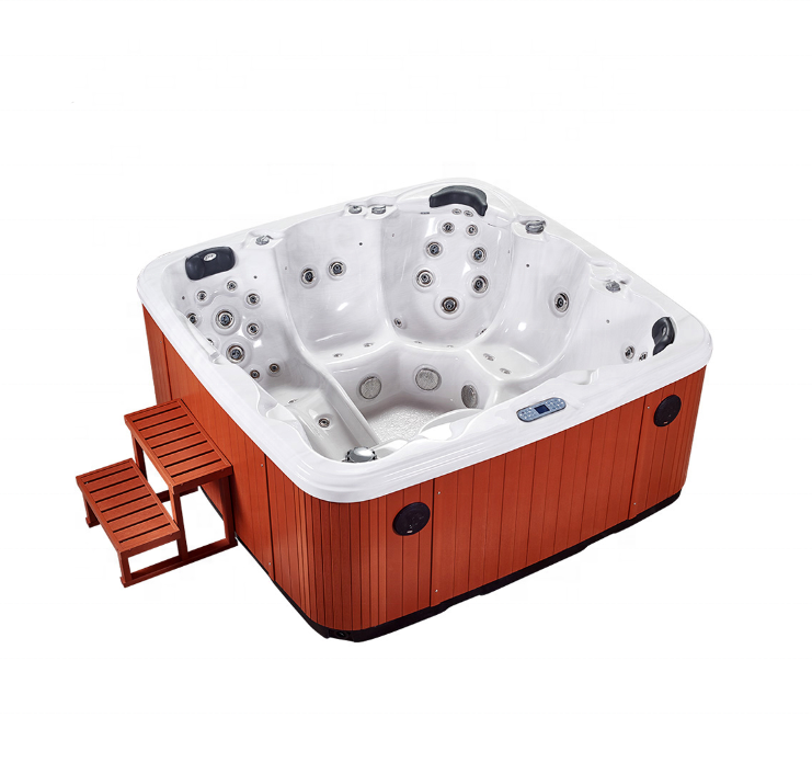 Factory Price Wholesale Outdoor Whirlpool Balboa Swimming Spa Hot Tub