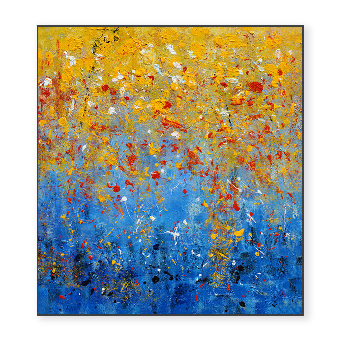 Wall art decor home decorative vivid colorful painting for wall art canvas art