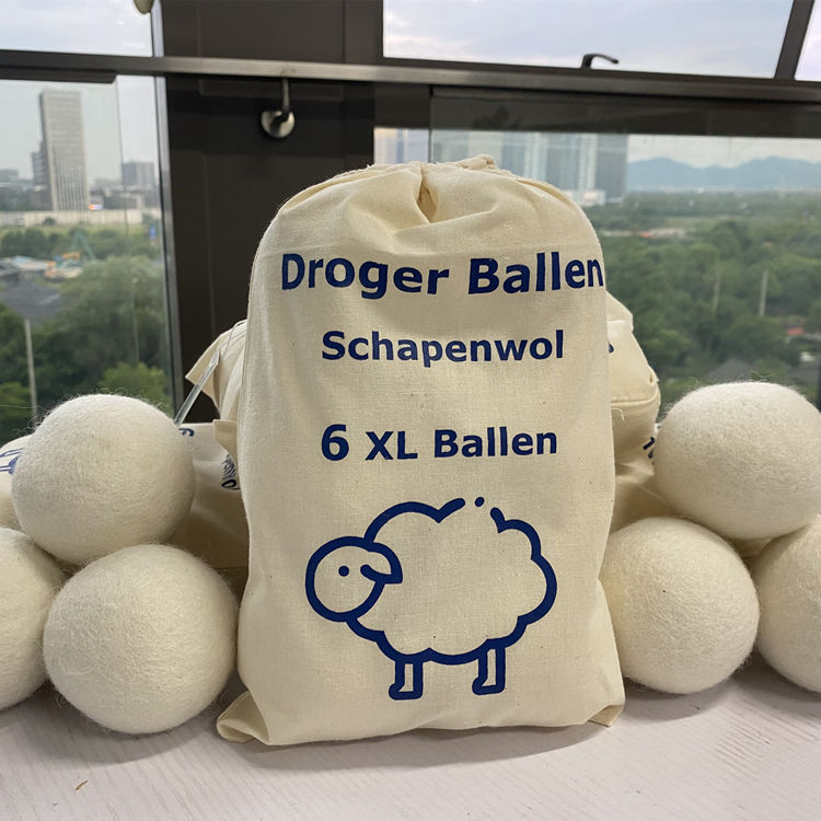 Wholesale Eco Felt New Zealand Laundry Wool Dryer Balls Organic