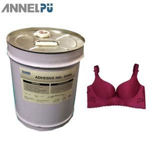 PU glue/Bra adhesive glue NEL-1050L for lamination bra cups, fabric to foam, fabric to fabric, etc