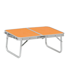 Garden Furniture Portable Aluminum Small MDF Outdoor Folding Table Camping