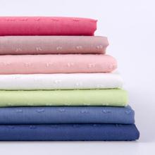 Woven 100% cotton jacquard fabric for woman shirt dress
