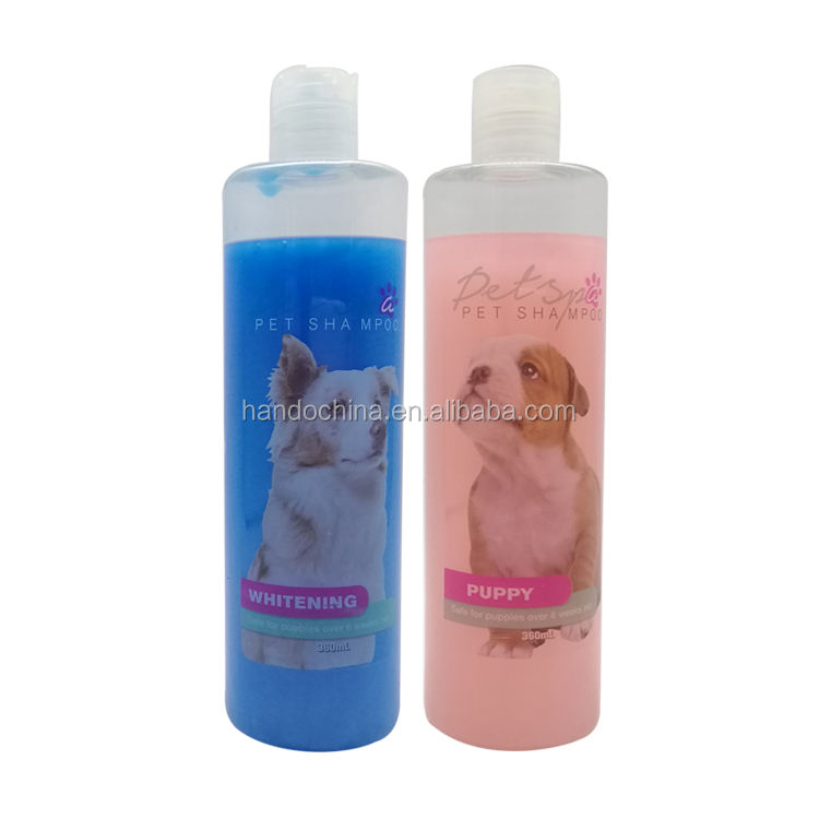360ML Pet Mild Shampoo Conditioner Hair Straightening