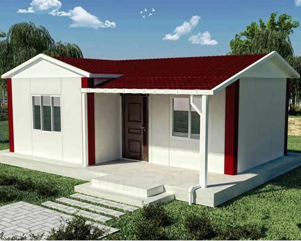 Low cost ready made prefabricated eps houses in China