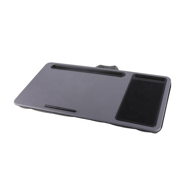 Multi-purpose hot selling cheap portable home office lap laptop cushion tray soft desk lap reading table mouse pad