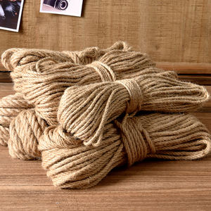 Twine rope DIY photo wall tag kindergarten bar decoration packaging wear-resistant binding fruit tree shaping materials
