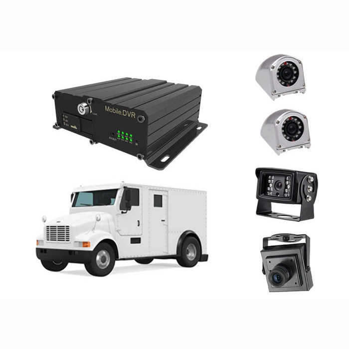 Fleet管理MDVR 4CH 720P 1080P Mobile DVR Support 3G 4G WiFi GPS MDVRためCar Bus Truck Vehicles Camera Recorder MobileDVR