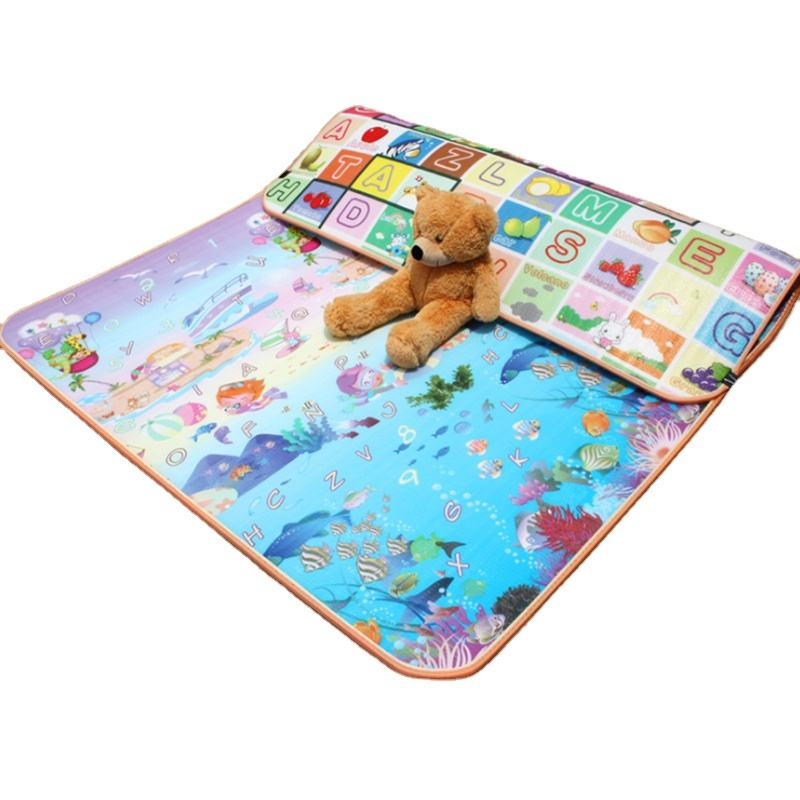 Wholesale top quality anti slip EPE XPE foam non-toxic eco-friendly baby custom designs colorful cartoon designs baby play mat