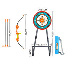 CE certificate plastic archery bow and arrow for kids