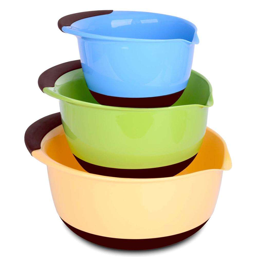 China Plastic Mixing Bowl Set