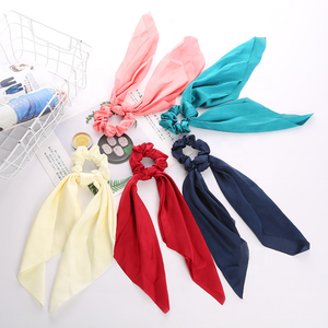 Pure Color Long Pattern Tassels Headband Hair Accessories For Girl