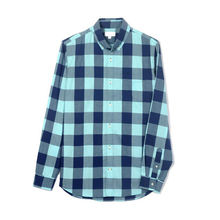 manufacturer custom long sleeve couple design button up shirt