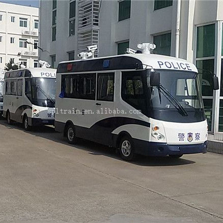 Mini New Luxury Electric Tourist City 20 seater Public Transportation Passenger Used Police Bus For Sale