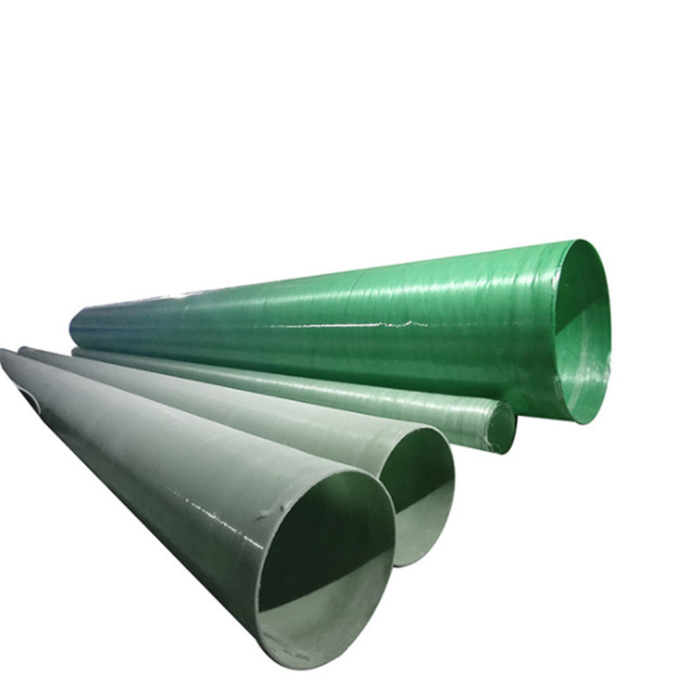 Anticorrosion and high temperature resistant pressure bearing pipe is specially used for municipal power plantFRP pipe