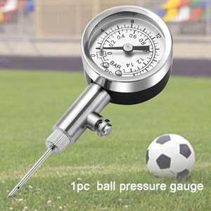 Pointer Ball Barometer Football Pressure Gauge Mini Digital Display Handheld