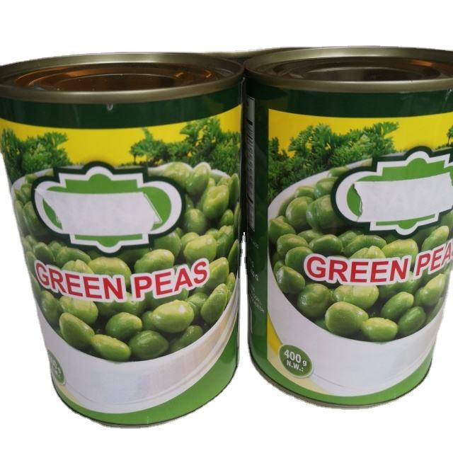 factory price canned food 400g canned green peas