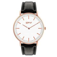 free sample men leather watch