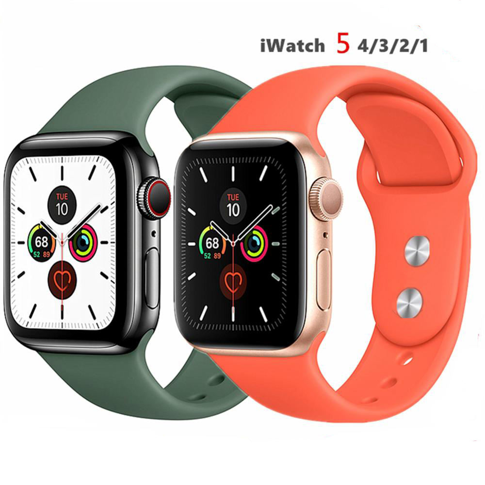 44 mm/40mm iWatch Band 38mm 42mm 38mm Sport For Apple Watch band series 6 5 4 3 2 1 SE