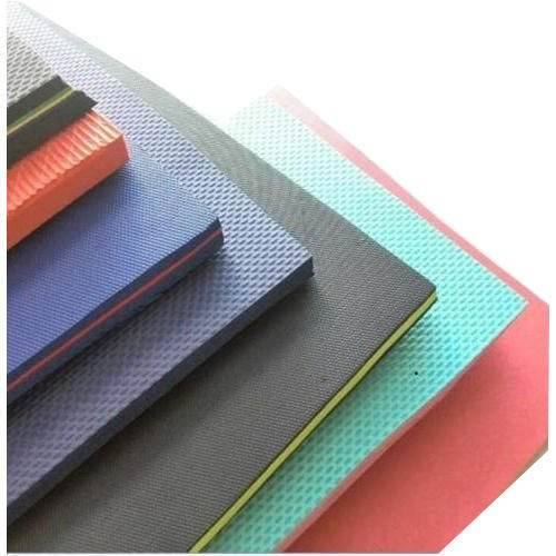China factory high quality Bicolor Eva foam sheet for die cut product and slipper custom eva foam layers
