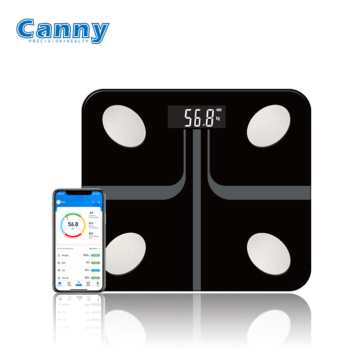 2020 Unique High Precision Bathroom Electronic Digital Weighing Body Bluetooth Scale 180KG