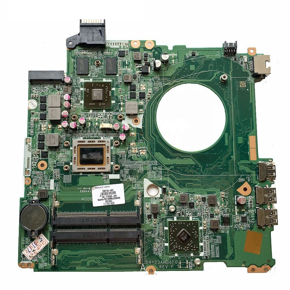 For HP Pavilion 15-P 766715-501 motherboard mainboard DAY23AMB6C0 REV:C A10-5745M
