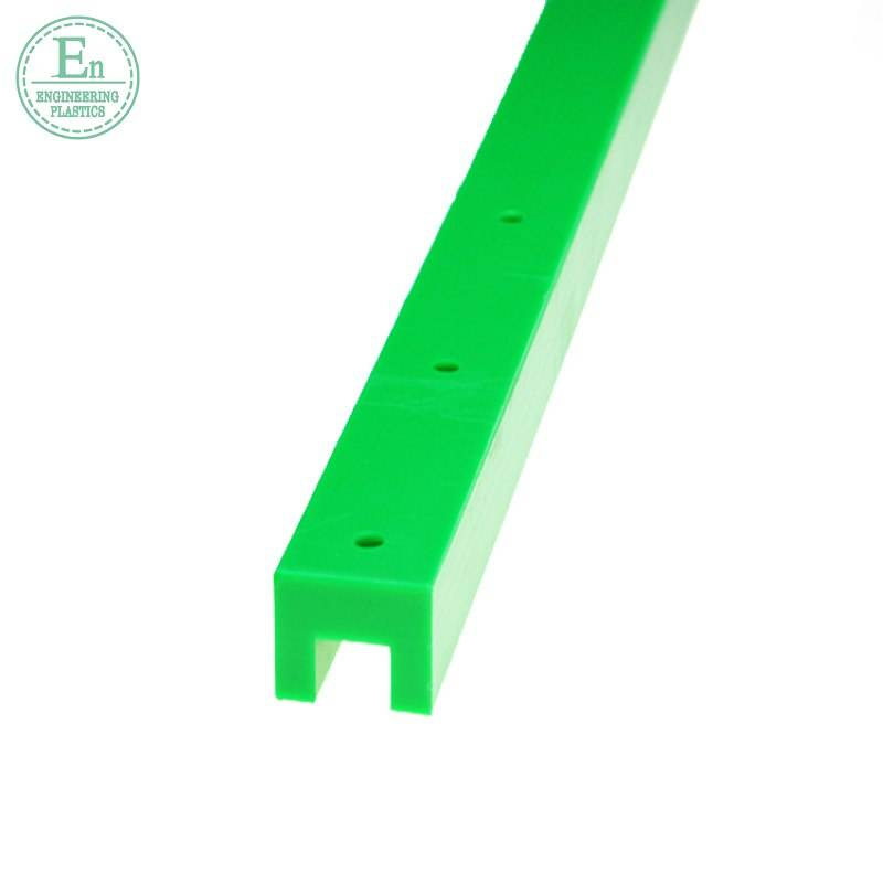 CNC uhmwpe wear resistant plastic linear guide custom anti corrosion guide rails